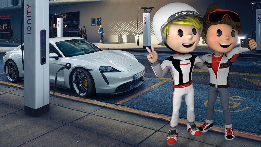 Porsche 4Kids, una propuesta de actividades para niños