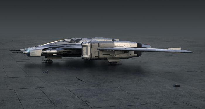 Porsche x Star Wars Tri-Wing S-91x Pegasus Starfighter 3