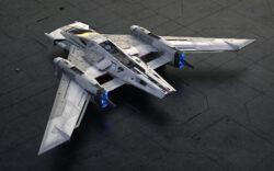 Porsche x Star Wars Tri-Wing S-91x Pegasus Starfighter 5