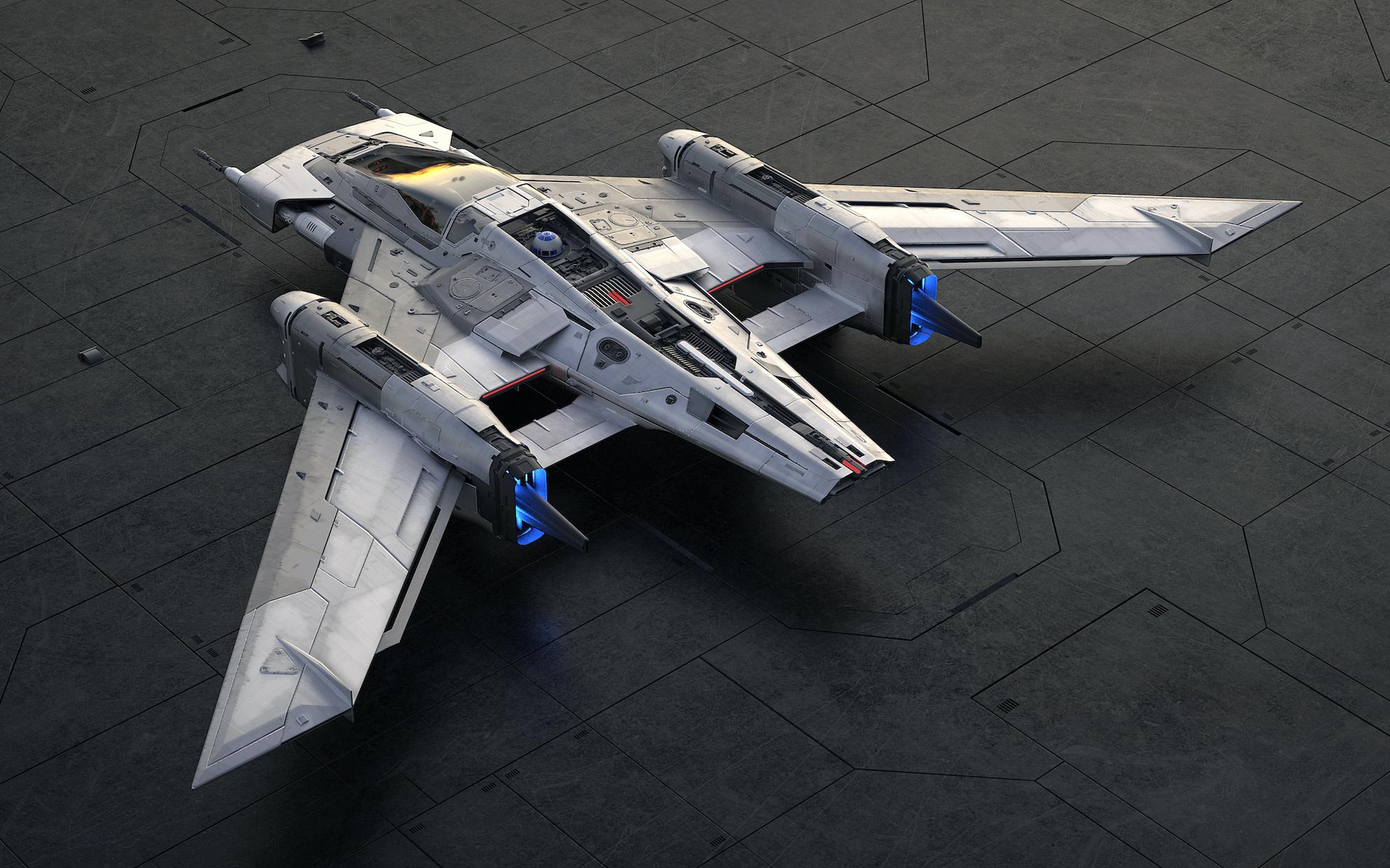 Este Día de Star Wars, conoce cómo Porsche desarrolló su nave espacial