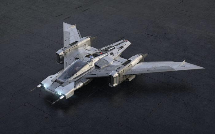 Porsche x Star Wars Tri-Wing S-91x Pegasus Starfighter 4