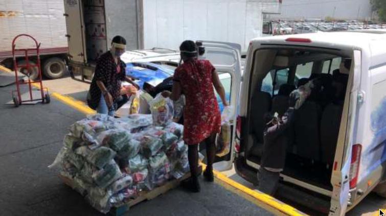 A través de Proyecto México, Ford dona despensas a los más necesitados