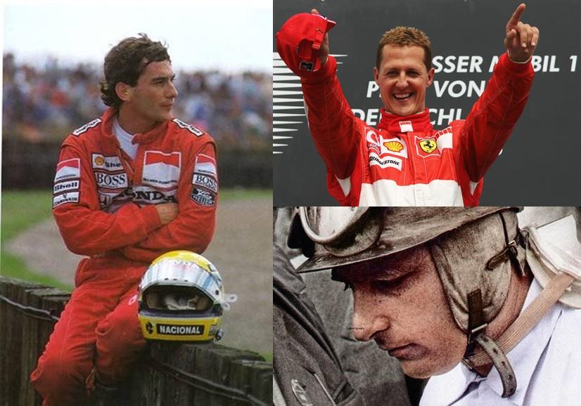 Senna, Fangio o Schumacher, ¿quién fue mejor?