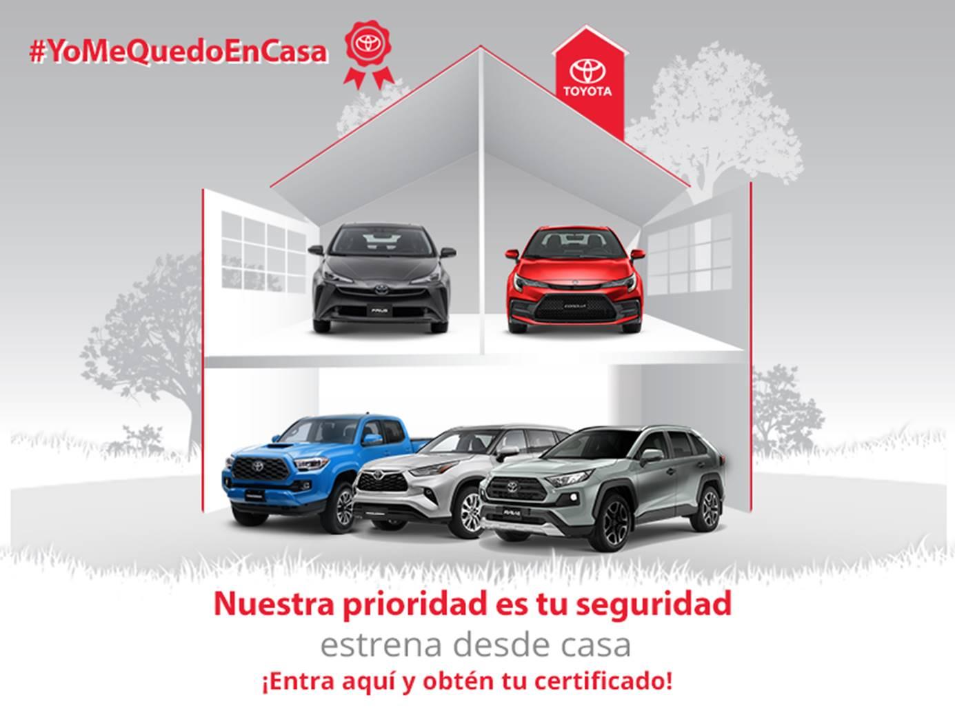 Puedes comprar un Toyota desde casa