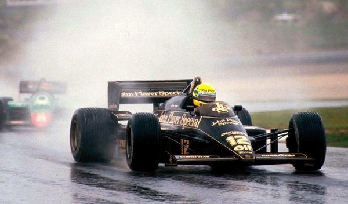 La primera victoria de Ayrton Senna en la F1