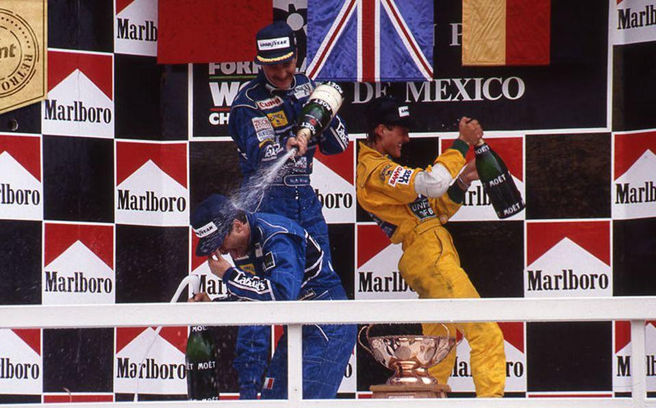 GP de México de 1992: el primer podio de Michael Schumacher en el F1