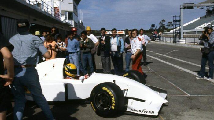 """El """"McLambo"""" que condujo Ayrton Senna"""