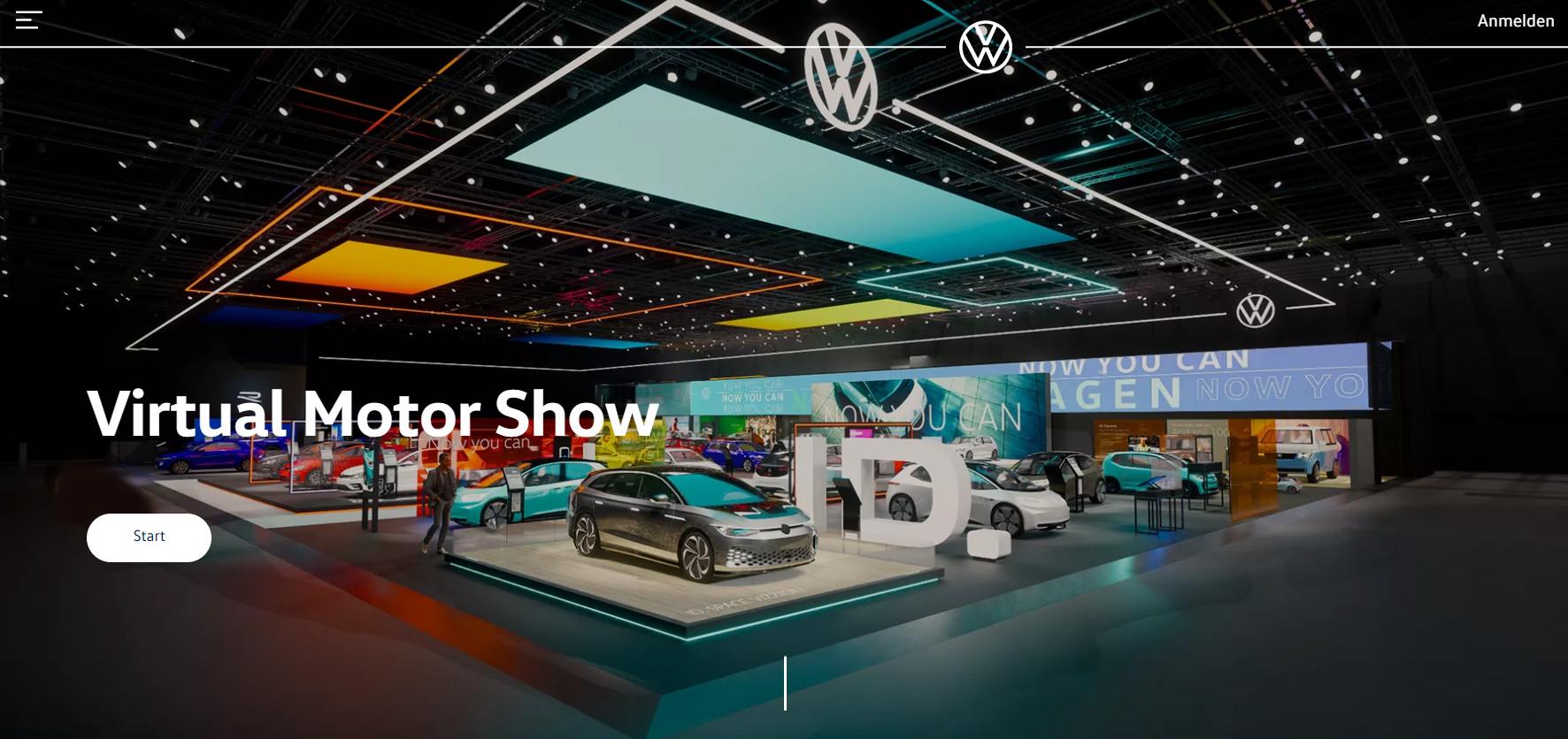 Recorre el stand virtual de Volkswagen en el Autoshow de Ginebra