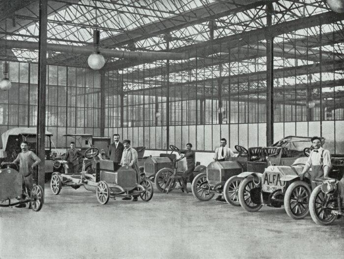 A.L.F.A. - Anonima Lombarda Fabbrica Automobili