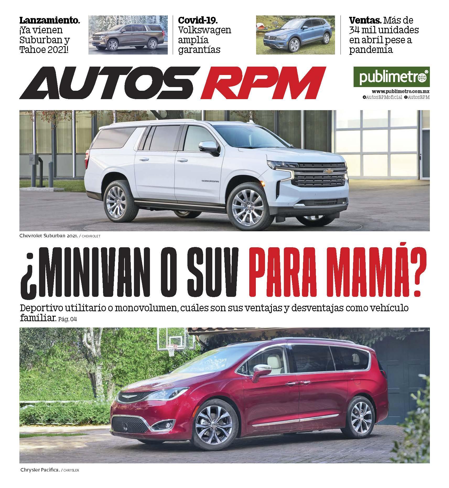 Suplemento Autos RPM del 7 mayo 2020