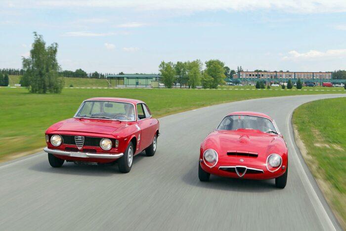 Alfa Romeo Giulia Sprint GTA and Giulia TZ