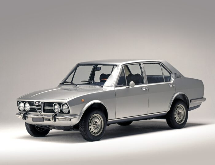 Production of the Alfetta started in Arese in 1972.