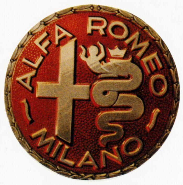 Alfa Romeo Logo (1946-1950)