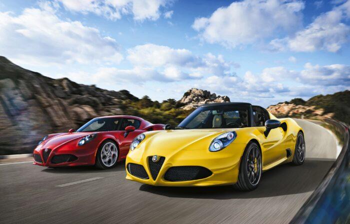 2016 Alfa Romeo 4C y 4C Spider