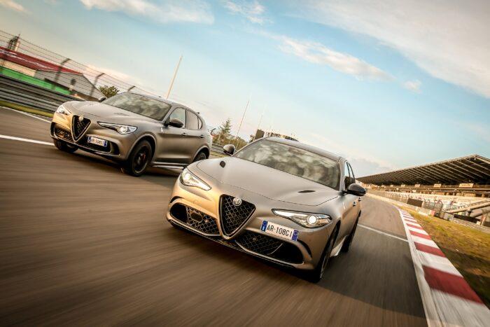Alfa Romeo Stelvio Quadrifoglio NRING Edition y Alfa Romeo Giulia Quadrifoglio NRING Edition