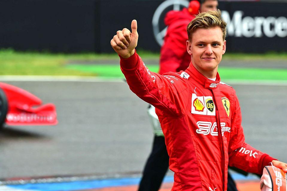Mick Schumacher está listo para la Fórmula 1
