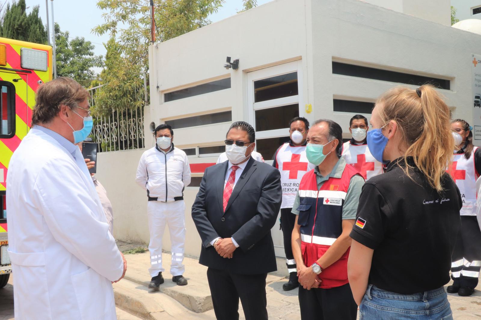 Audi México apoya al sector salud y a la comunidad ante el Covid-19