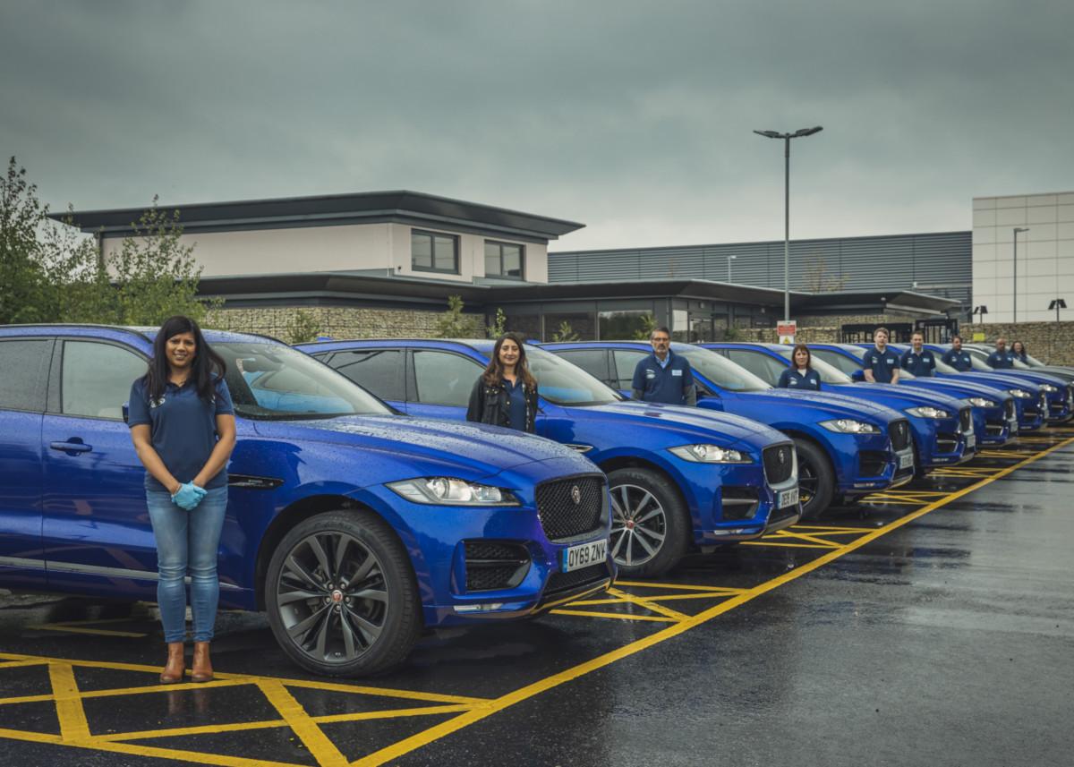 Jaguar y Land Rover apoyan contra el Covid-19