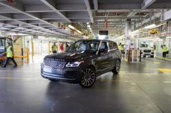 Land Rover reinicia producción con un Range Rover