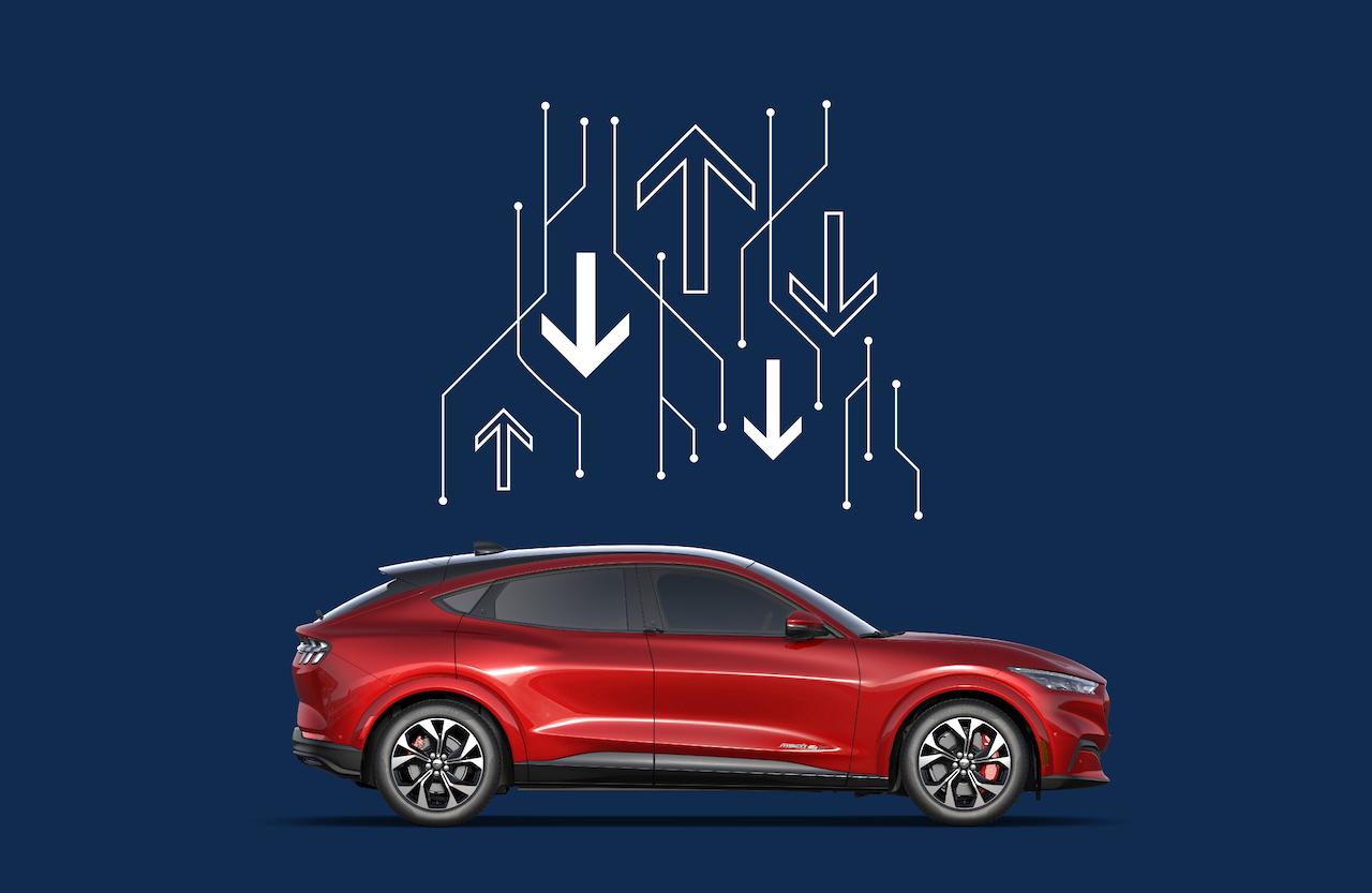Ford Mustang Mach-E se actualiza remotamente y desde cualquier lugar