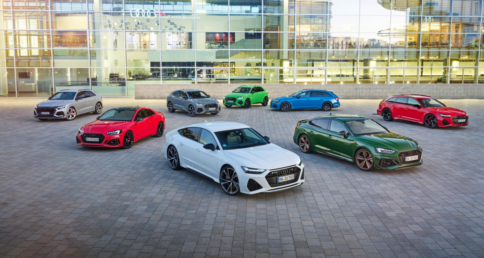 Audi RS, la máxima expresión deportiva