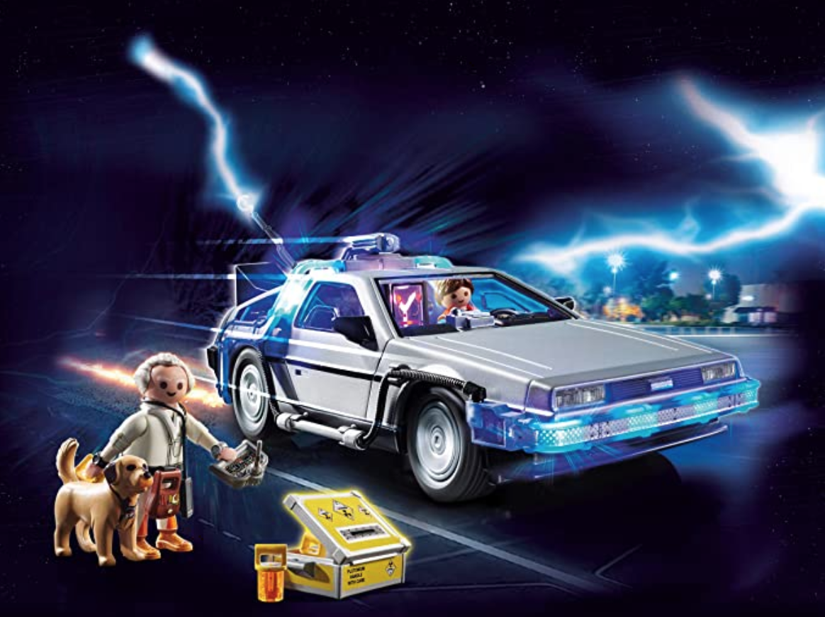 Ahora podrás tener el DeLorean en casa, ¡con Playmobil Volver al Futuro!