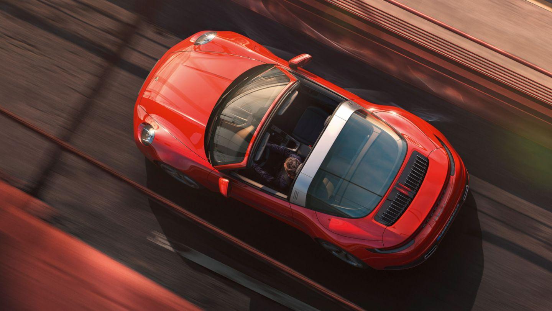 Porsche 911 Targa: elegancia clásica
