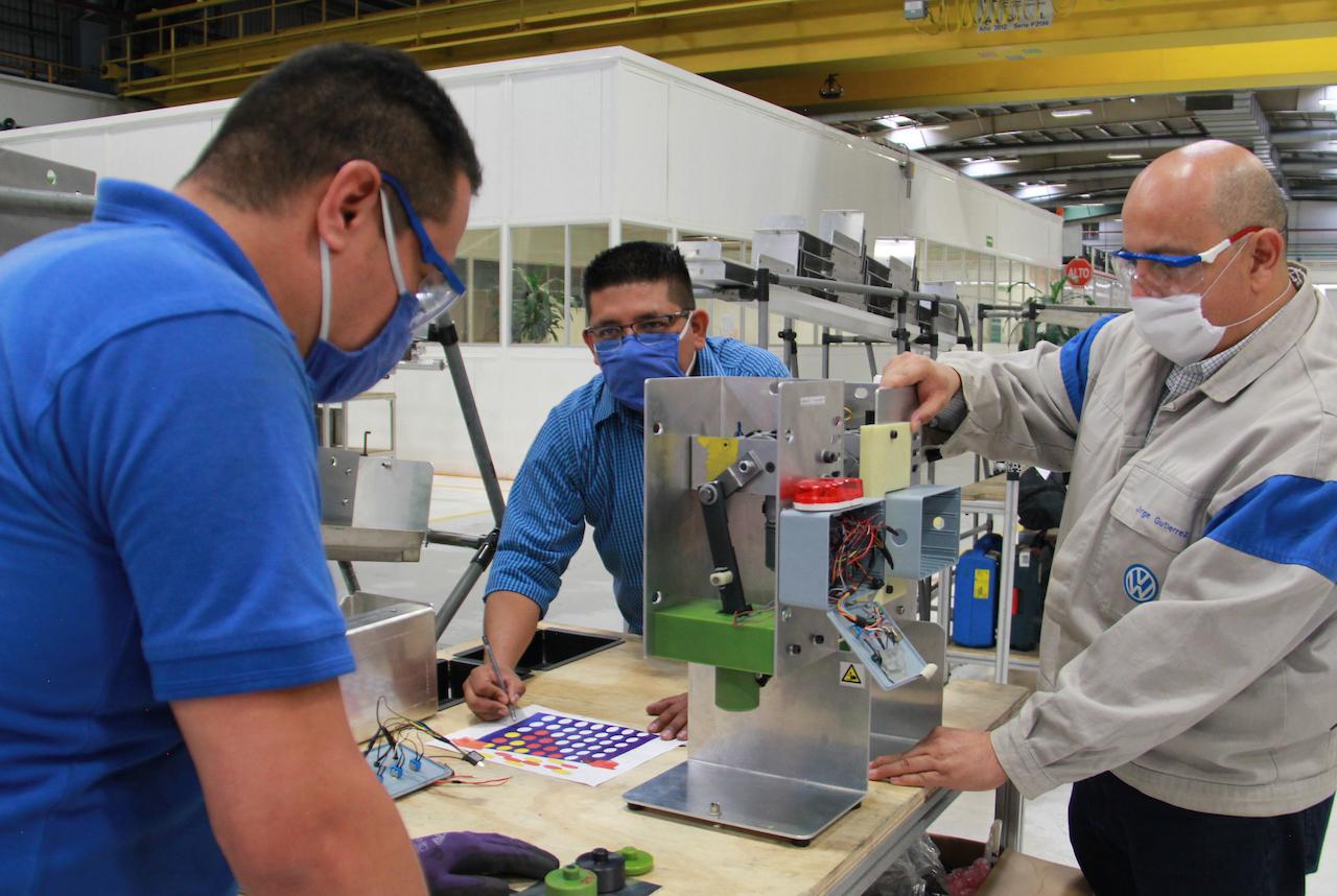 Volkswagen, de motor para limpiaparabrisas a respirador médico