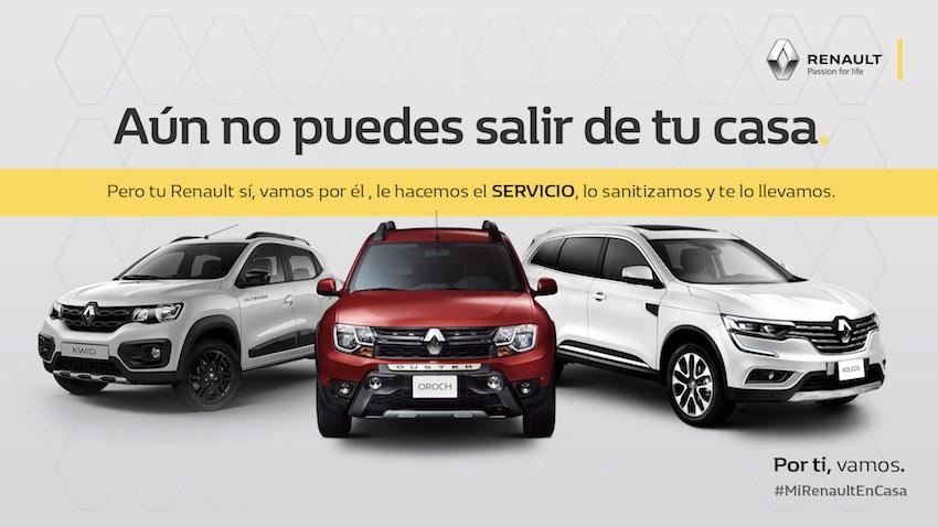 Renault México habilita servicio de valet y paga en agosto