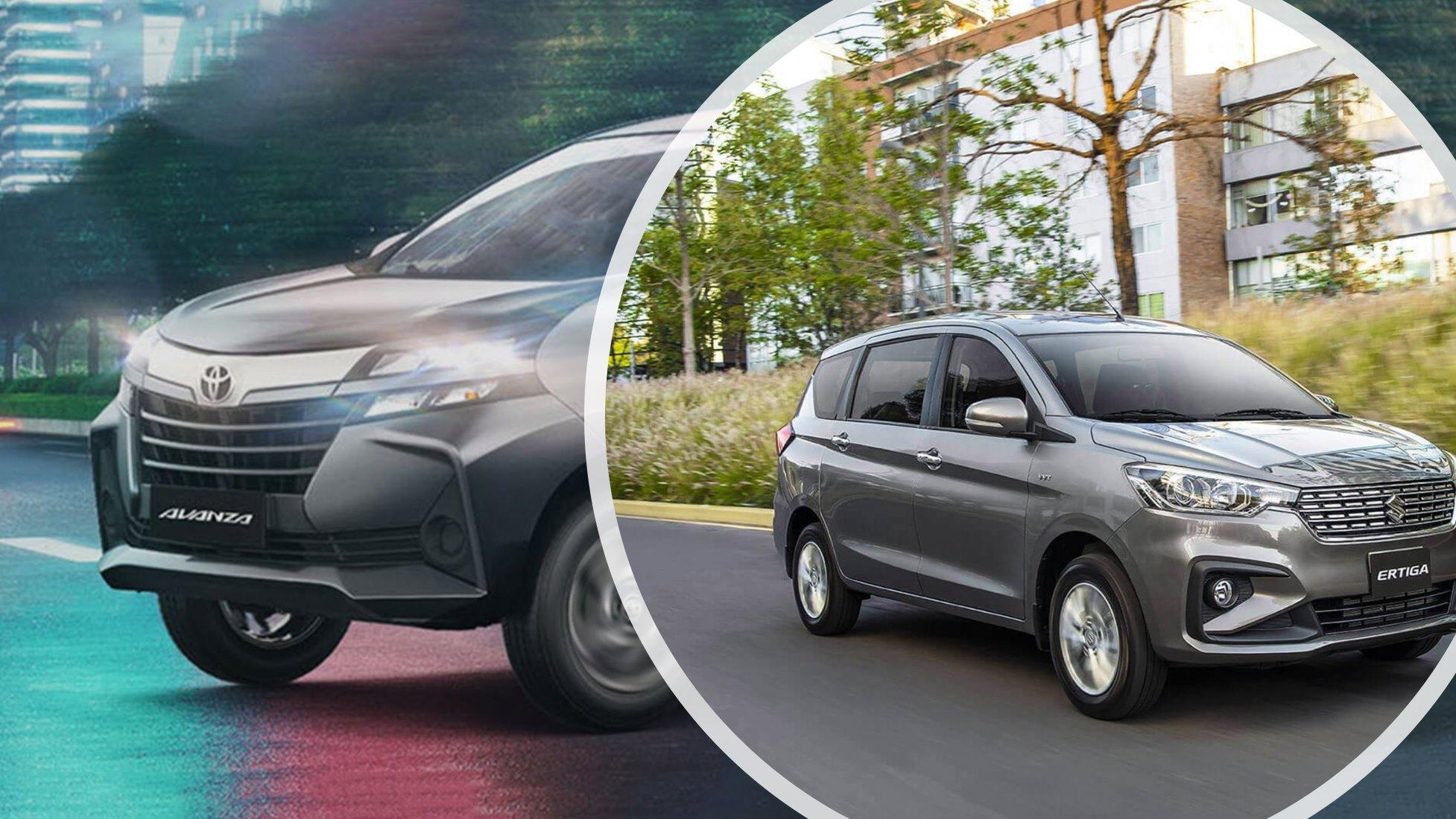 Suzuki Ertiga versus Toyota Avanza