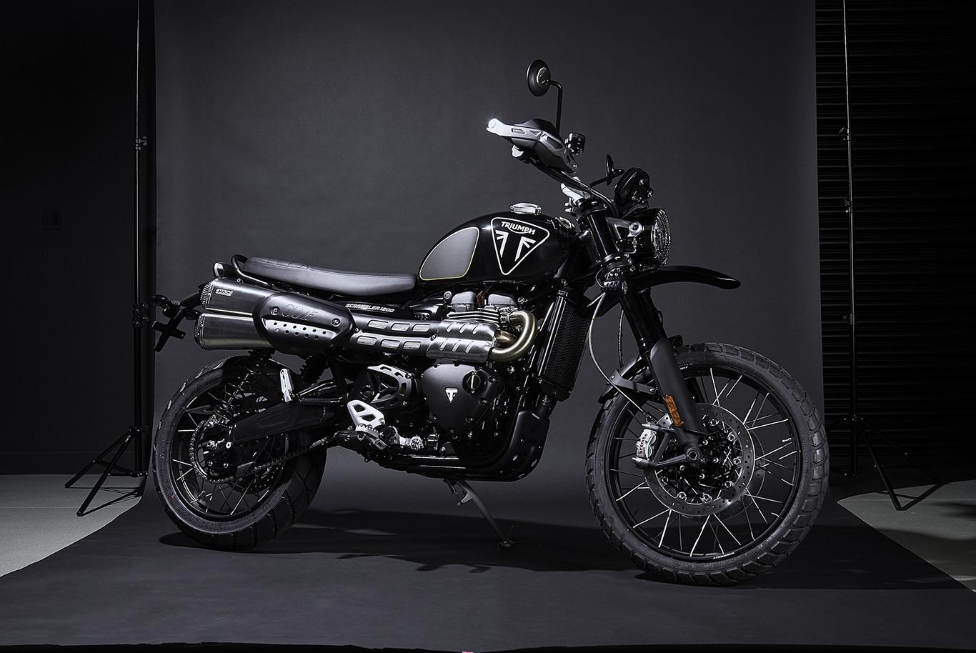 Una motocicleta digna del 007: Triumph Scrambler 1200 Bond Edition
