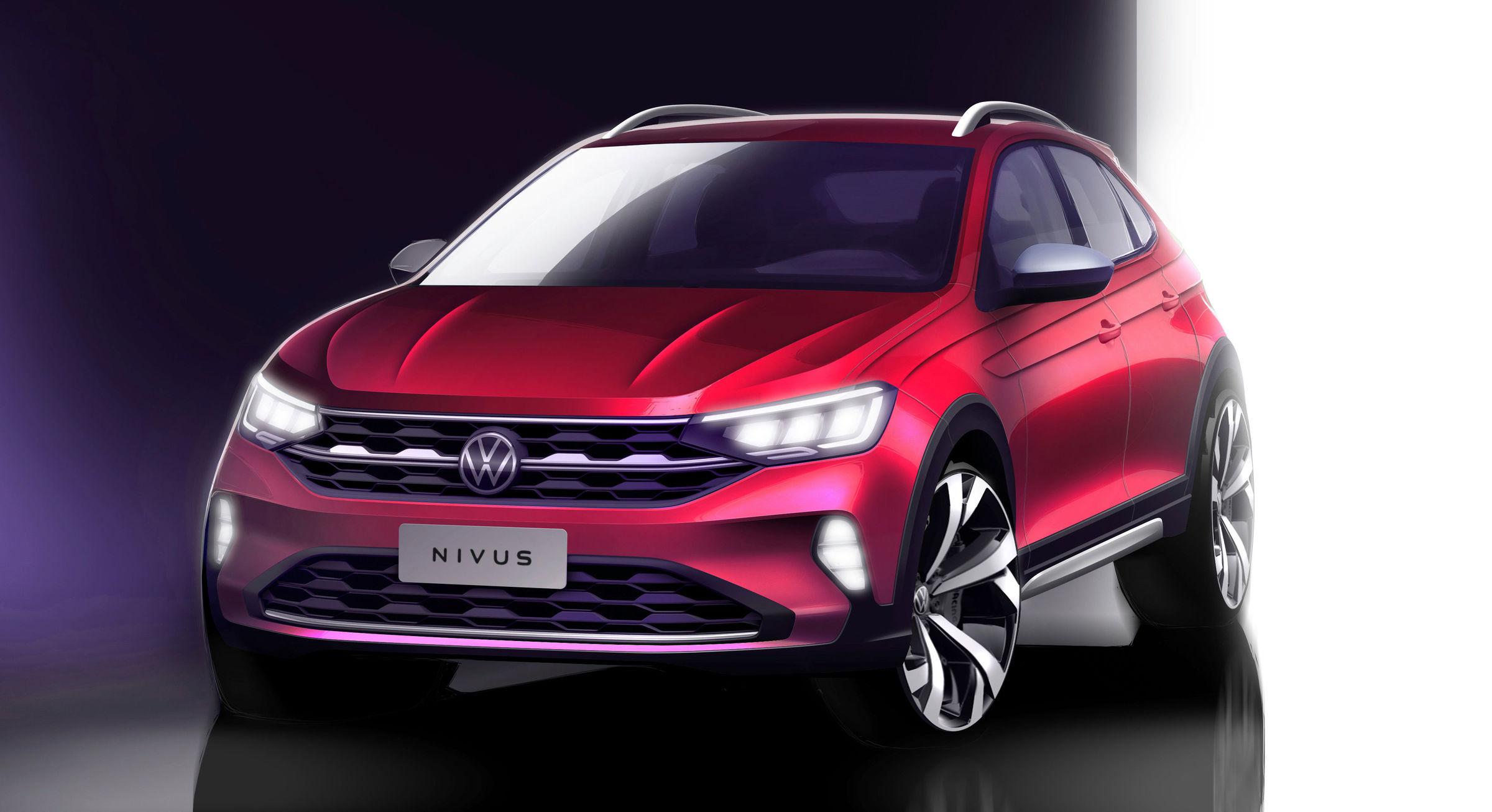 Volkswagen Nivus prepara su debut en Brasil
