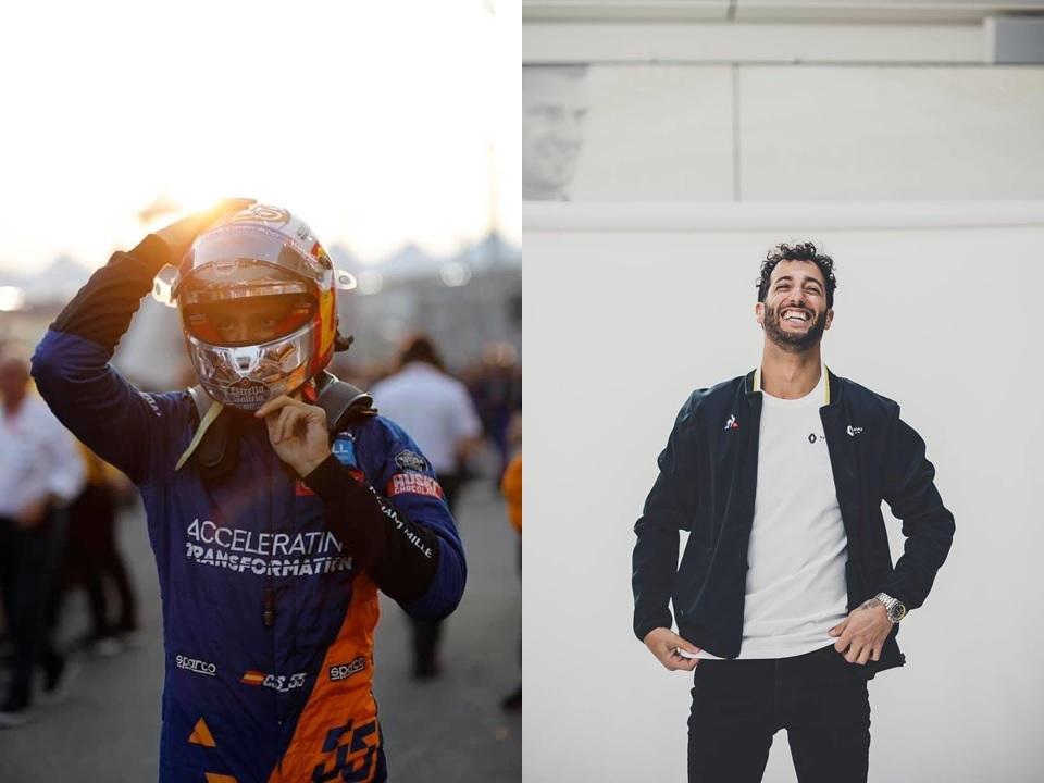 Oficial: Sainz a Ferrari y Ricciardo a McLaren