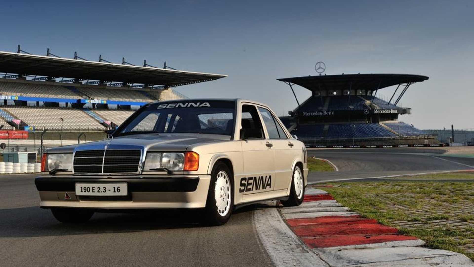 El Mercedes-Benz 190E que fue de Ayrton Senna y sigue circulando