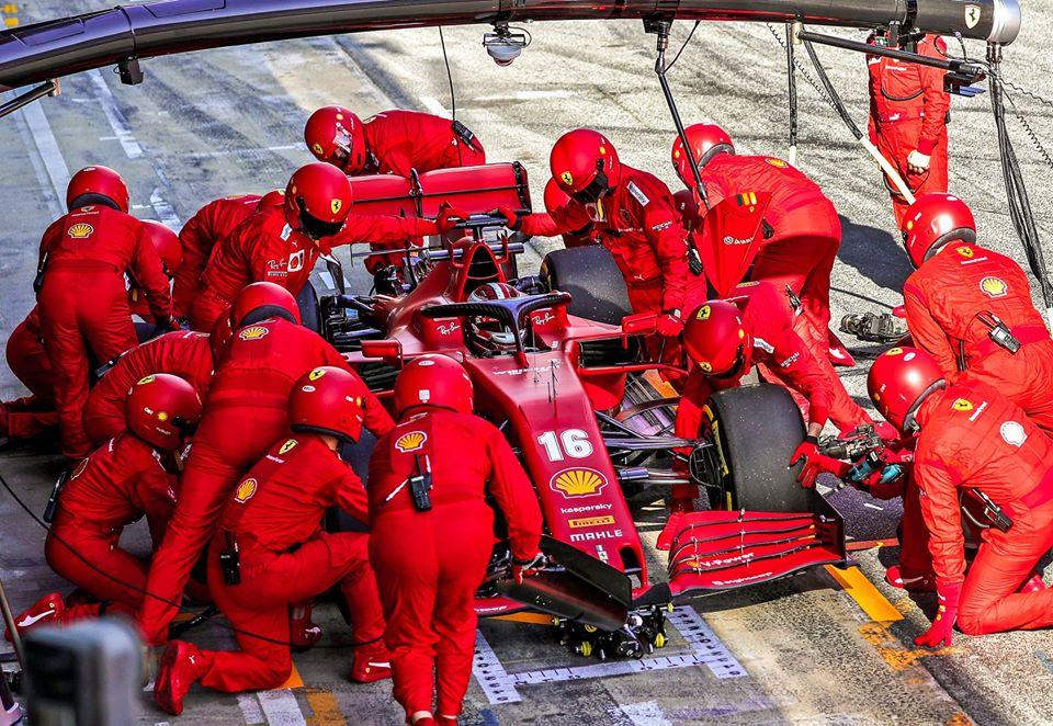 Ferrari llegará al GP de Austria con nuevo motor y caja de cambios