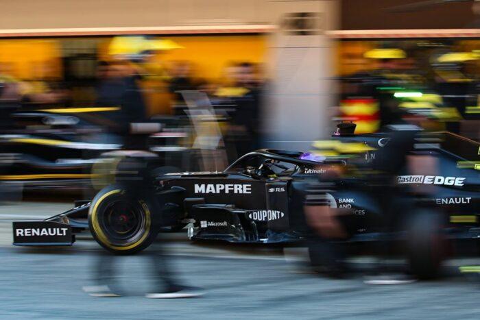 El equipo Renault hará un test privado