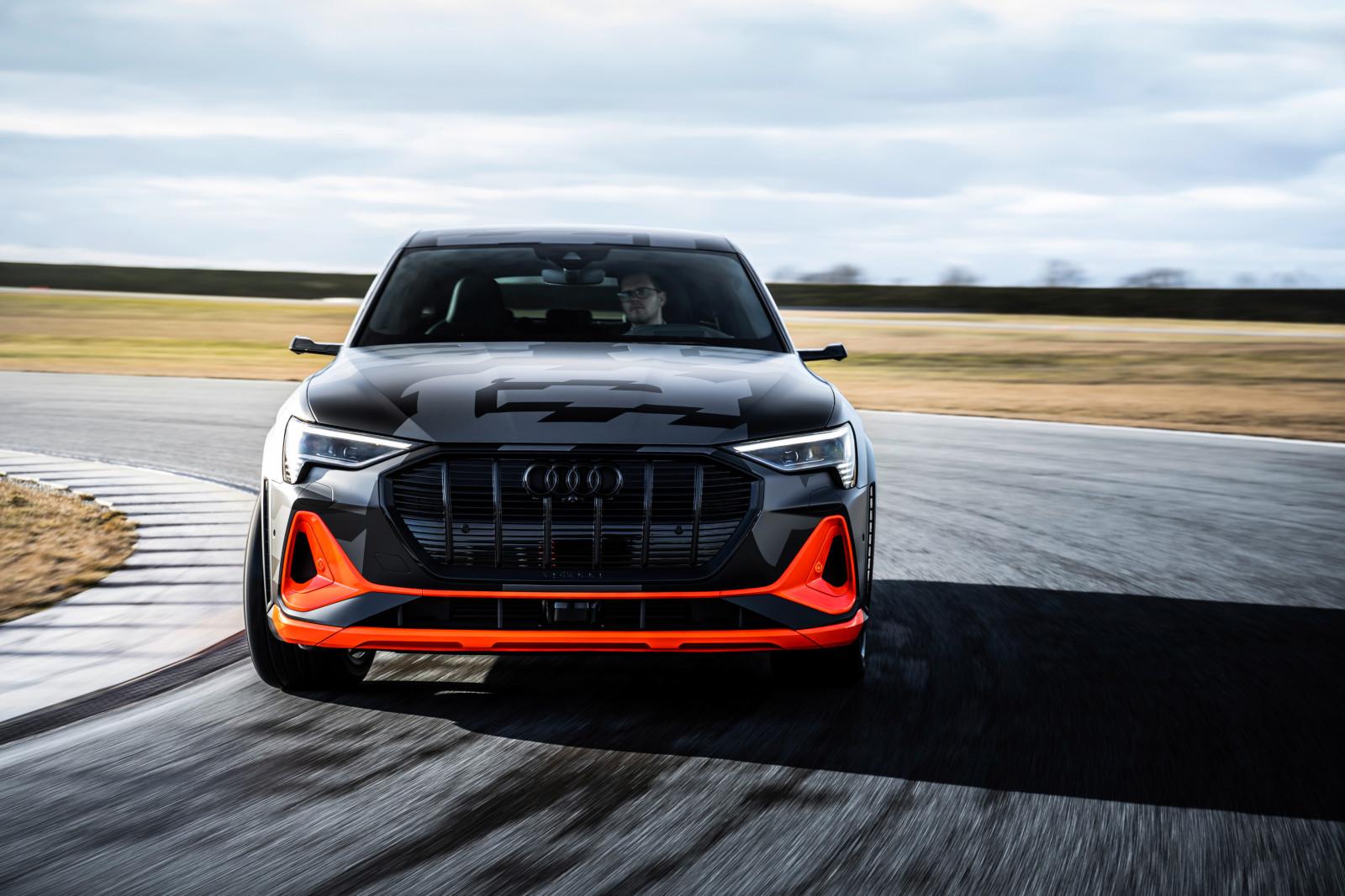 Audi e-tron S y los conceptos innovadores de su aerodinámica