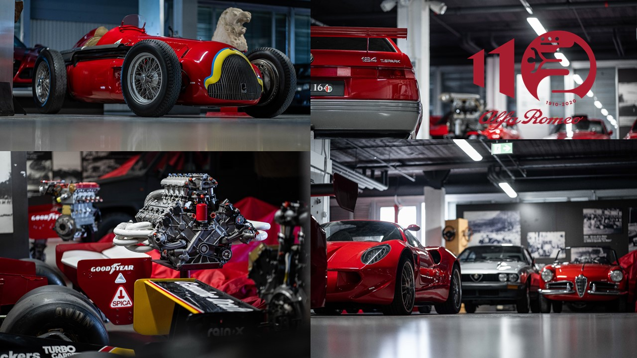 Alfa Romeo conmemora 110 años con reapertura de su museo