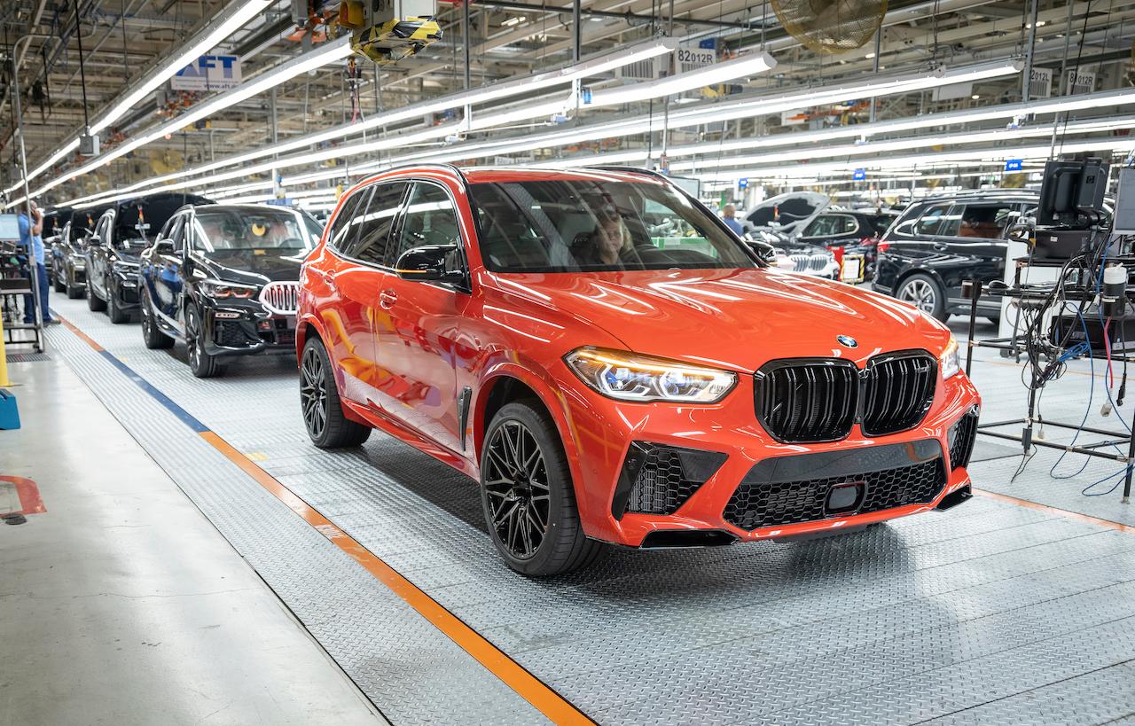 BMW construye la unidad cinco millones en Estados Unidos