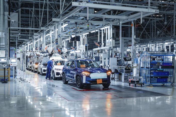 BMW iX3, todo listo para que inicie su producción