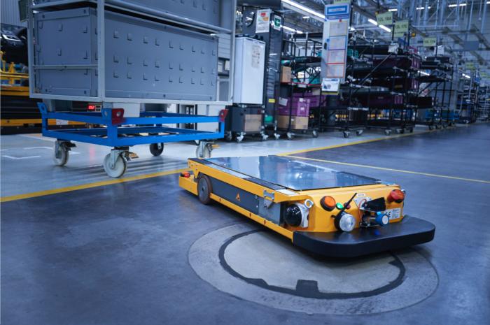 BMW robots de logística