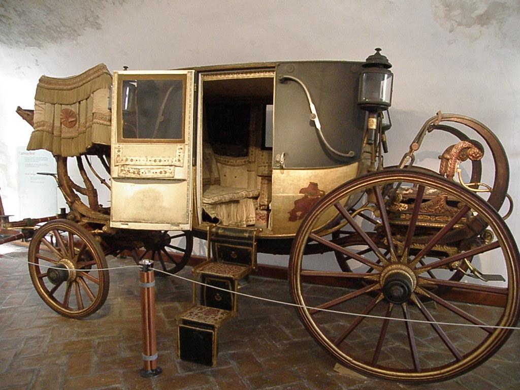 ¿Quién inventó la carroza?