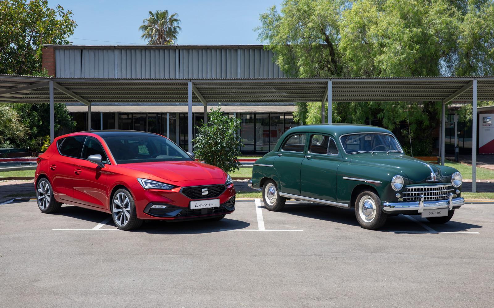 Del SEAT 1400 al León, la evolución de una marca
