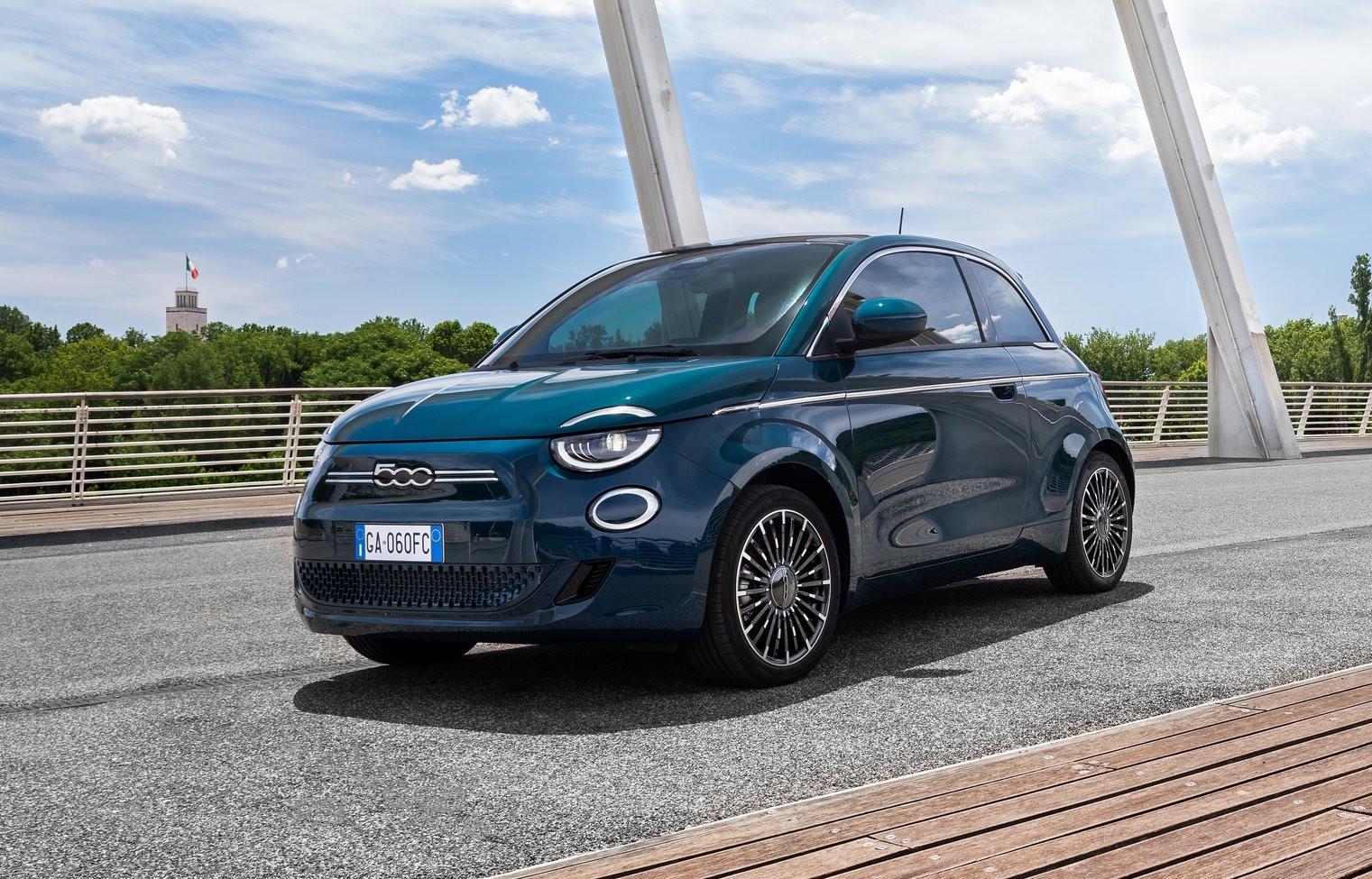 FIAT 500e totalmente eléctrico debuta en Europa