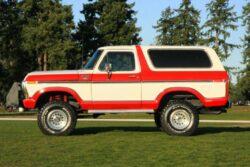 Ford Bronco 1978 Bitono