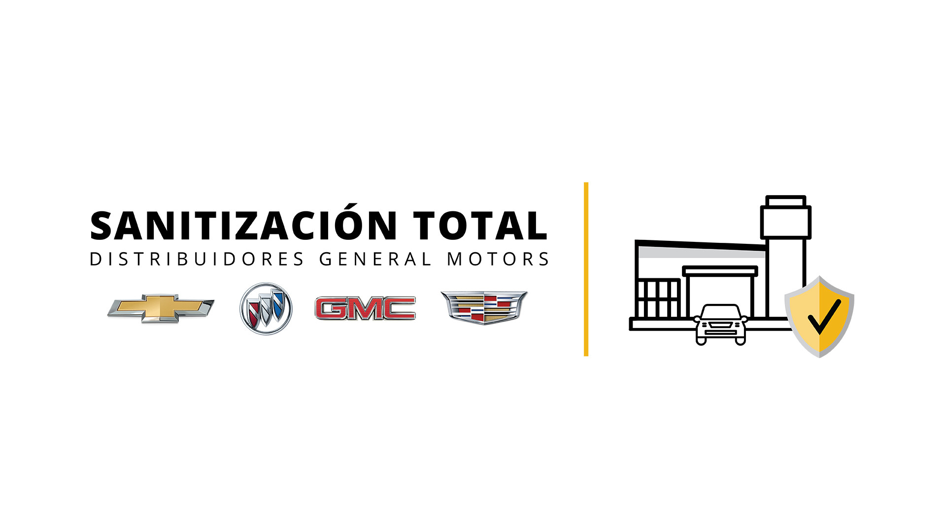 """General Motors inicia programa """"Sanitización Total"""" en distribuidores"""