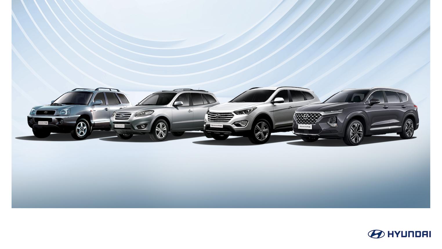 Hyundai Santa Fe ¡cumple 20 años!