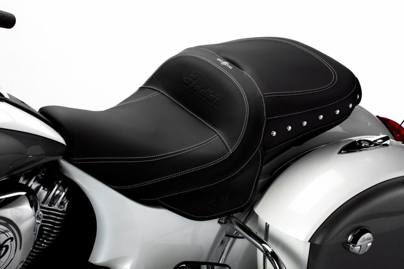 Indian Motorcycle estrena asiento calefactable