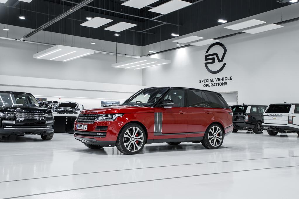 Jaguar Land Rover Operaciones de Vehículos Especiales creció en ventas