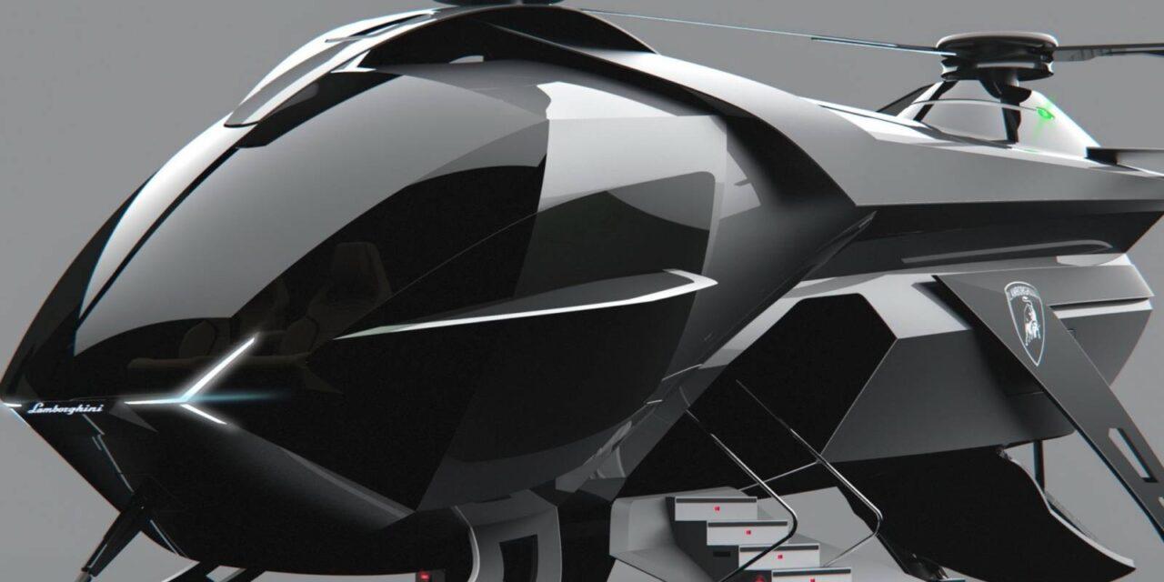 Lamborghini volador, con doble rotor